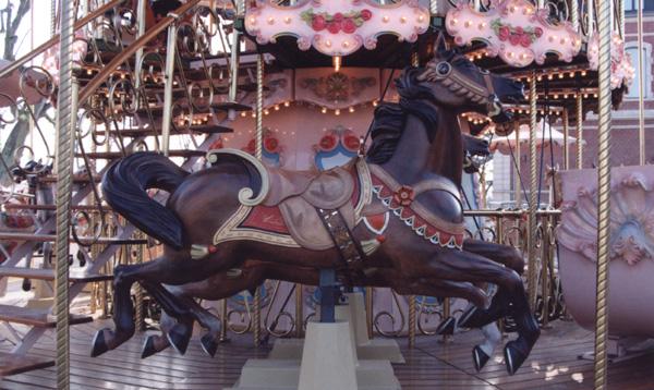 Authentique carrousel à louer