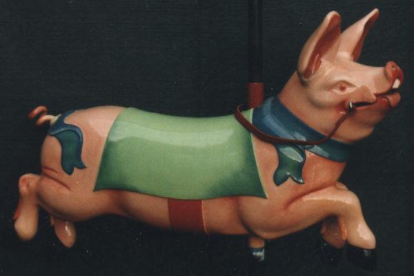 Cochon de manège forain
