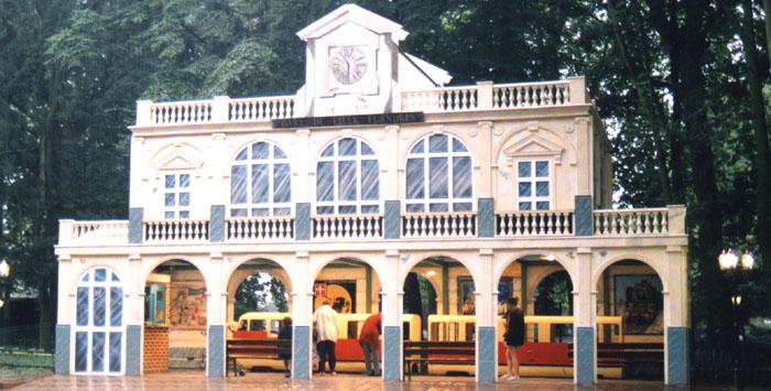 Reproduction de la gare de Lille