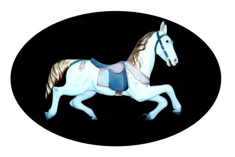 Sculpteur de chevaux de bois